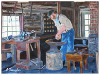 The Blacksmith - By Elaine Farragher