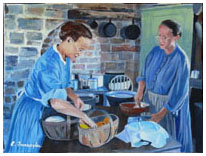 Country Kitchen - By Elaine Farragher